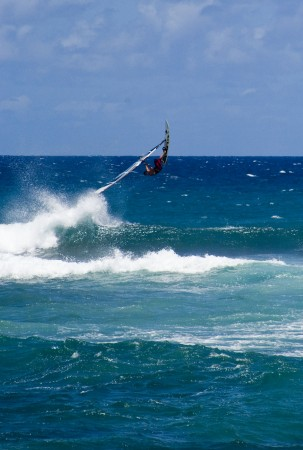 Action at Ho'okipa - (C) Maui Addicted